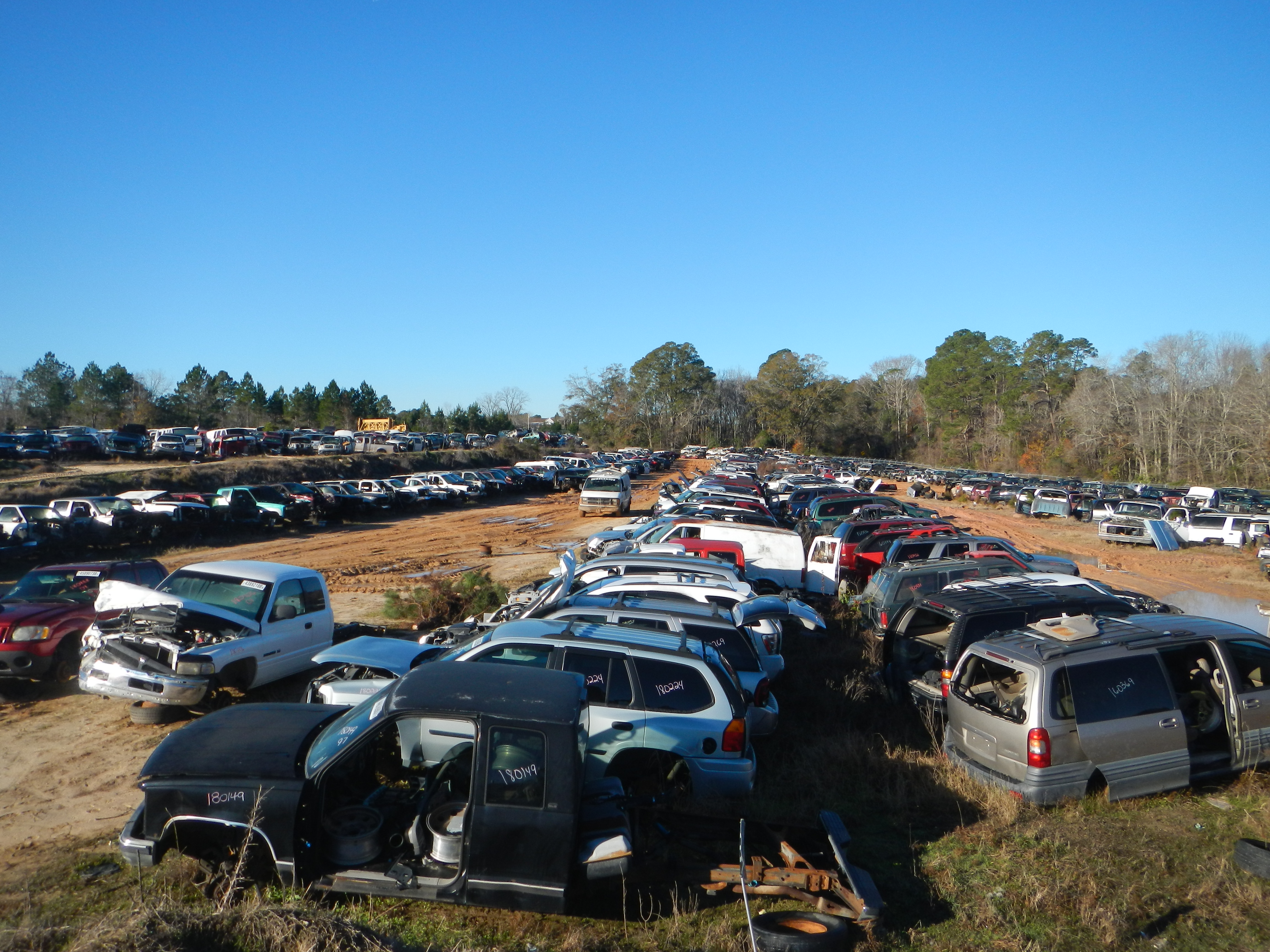 Home | B & W Salvage | Quality Used Auto Parts | Metter, GA